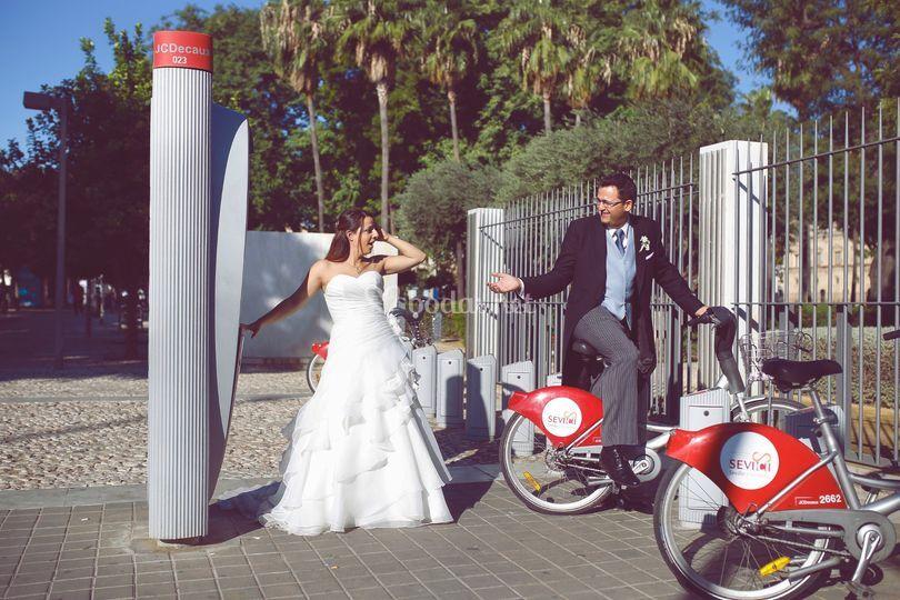 Pos-boda Fernado y Cristina