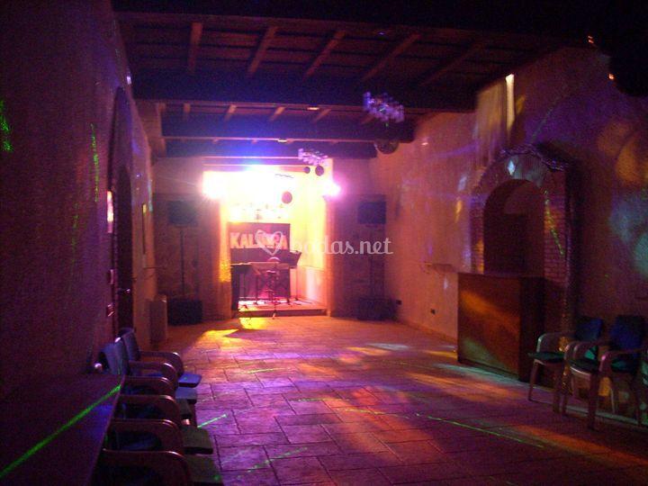 Kalimba iluminación