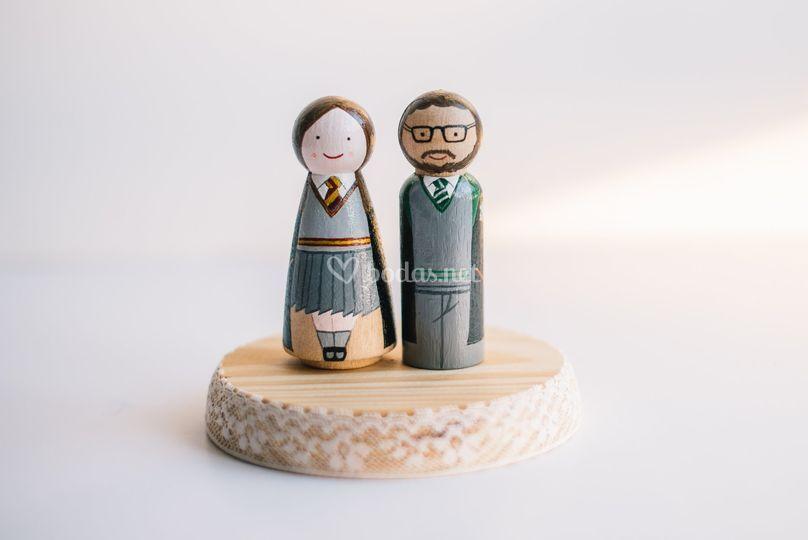 Harry Potter, figuras Boda