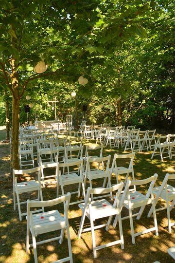 Zona de la ceremonia