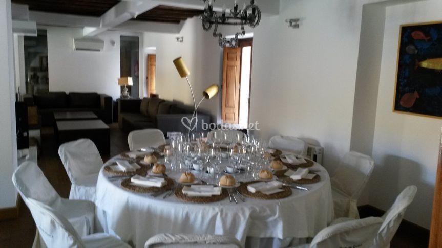 Villa cornelius - Mesa salon redonda ...