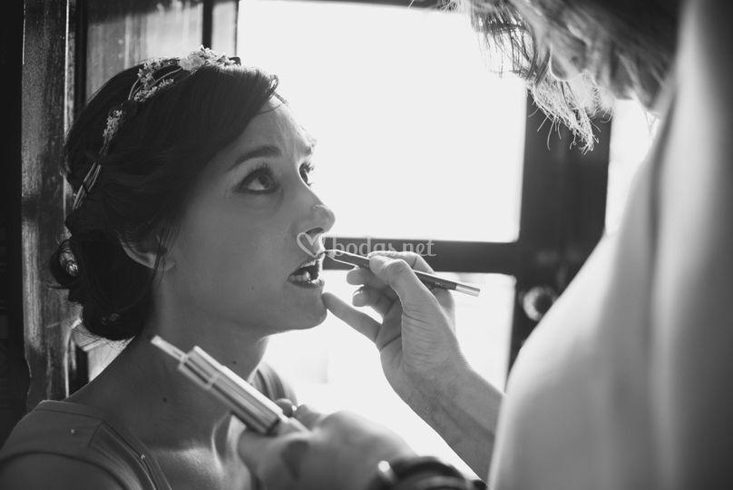 Maquillaje raquel
