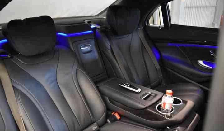 Mercedes s class - interior