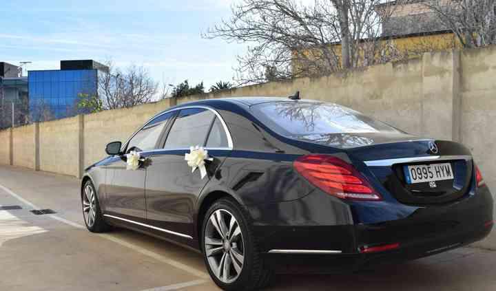 Mercedes s class - bottom