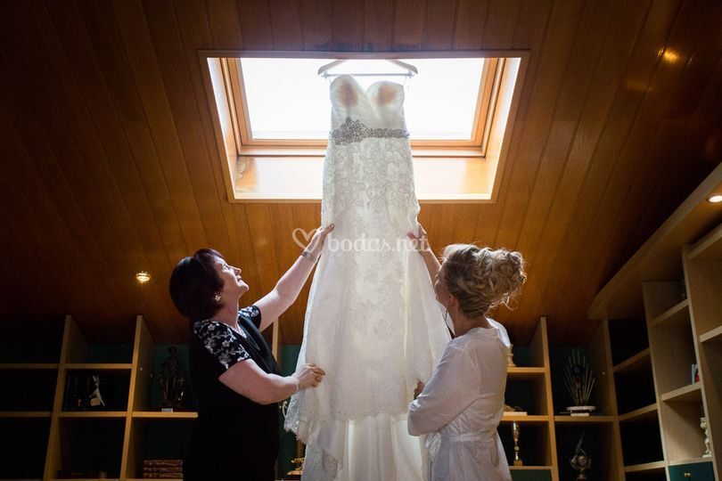 En casa de la novia