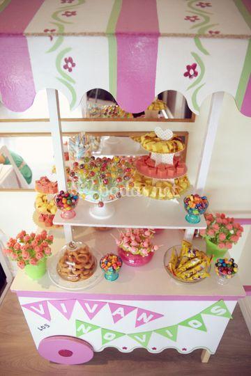 Candy bar - Carrito