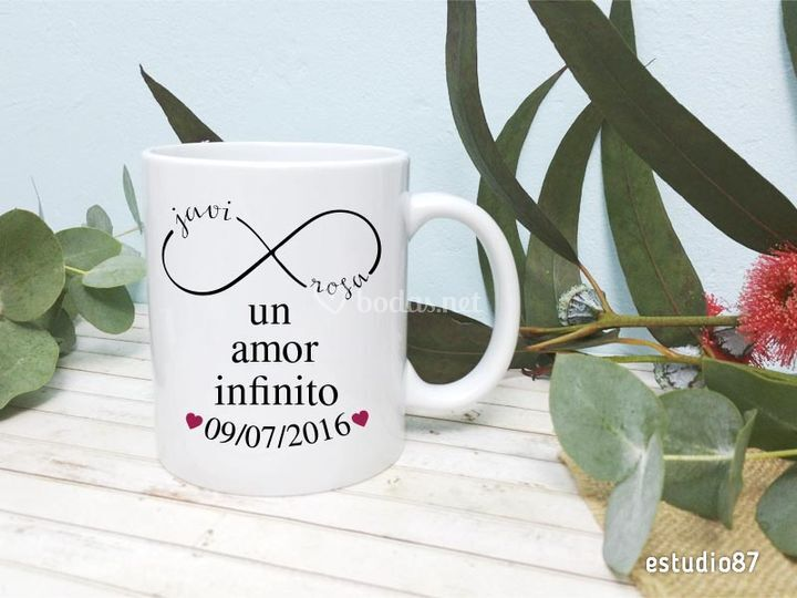Taza amor infinito