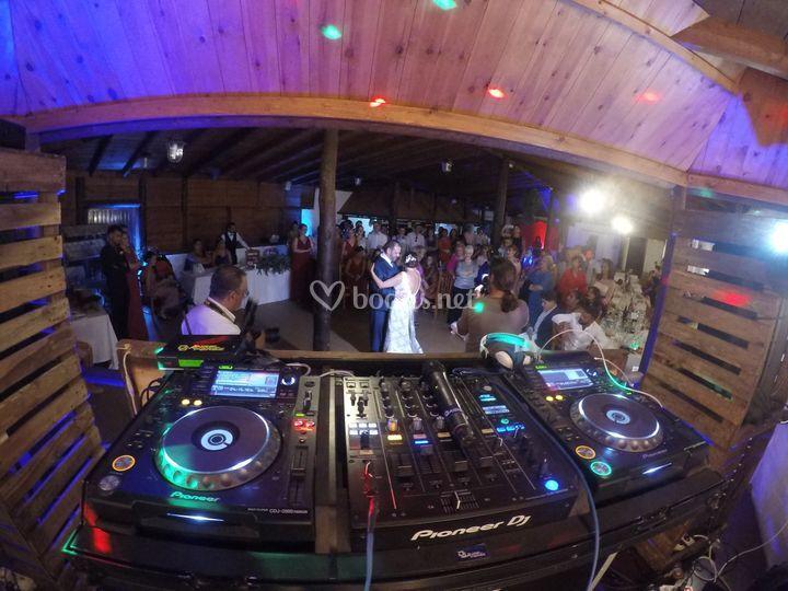 Baile de novios en la Oliva