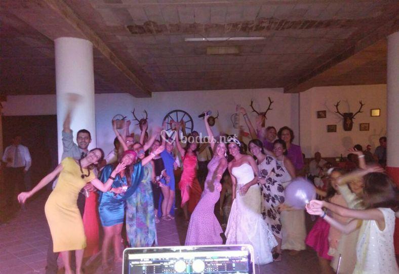 Los invitados a la boda