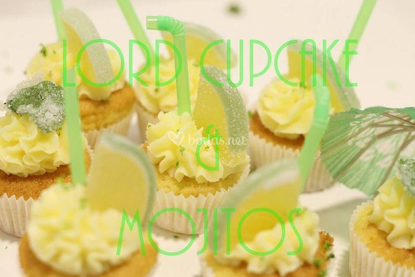 Mini cupcakes mojito