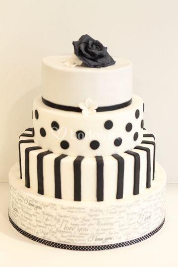 Tarta black&white