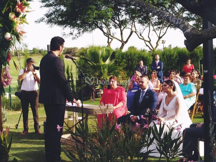 Monólogos en ceremonia