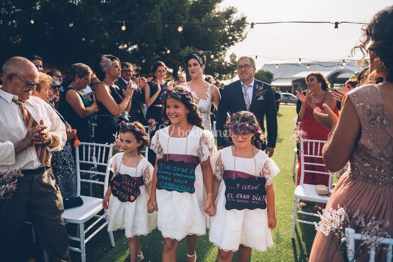Llega la novia
