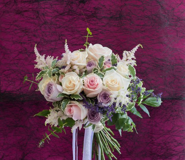 Ramo de novia rosas dulces