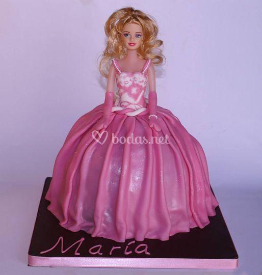 Tarta muñeca