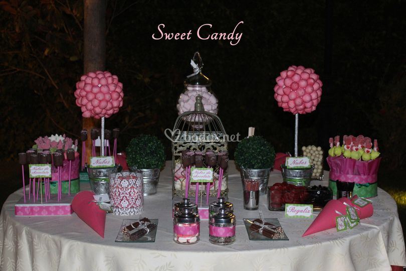 sweet candy mesas dulces