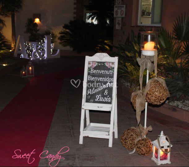 Decoraci n de bodas granada de sweet candy mesas dulces - Decoracion granada ...