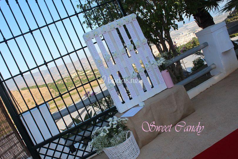 Sitting Plan en Finca El Porti