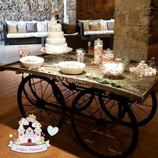 Candy Cart de Sugar Palace