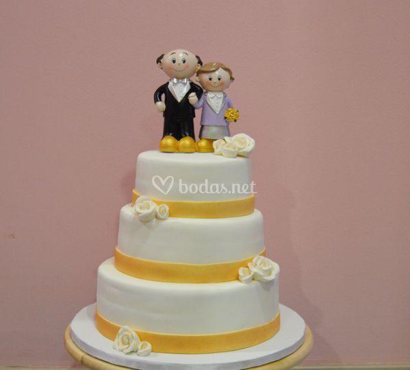 De pasteles boda de fotos