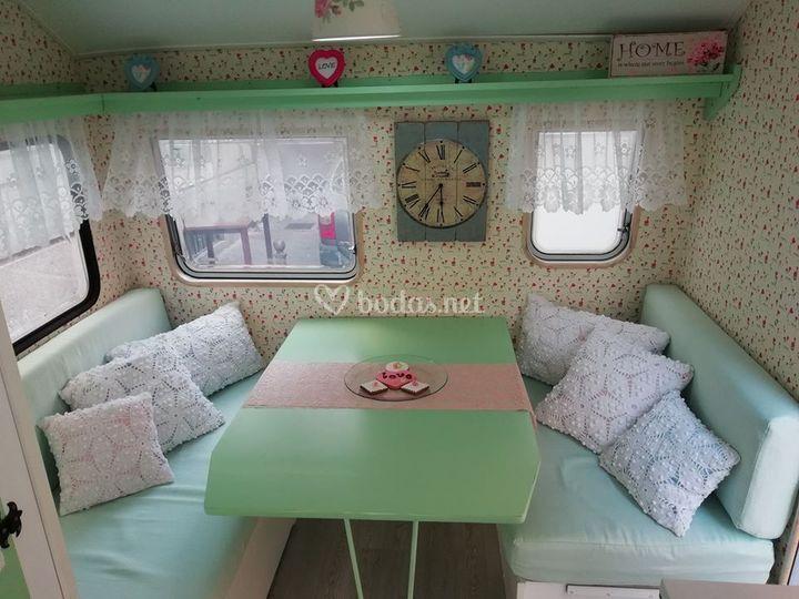 Caravana vintage para tu boda