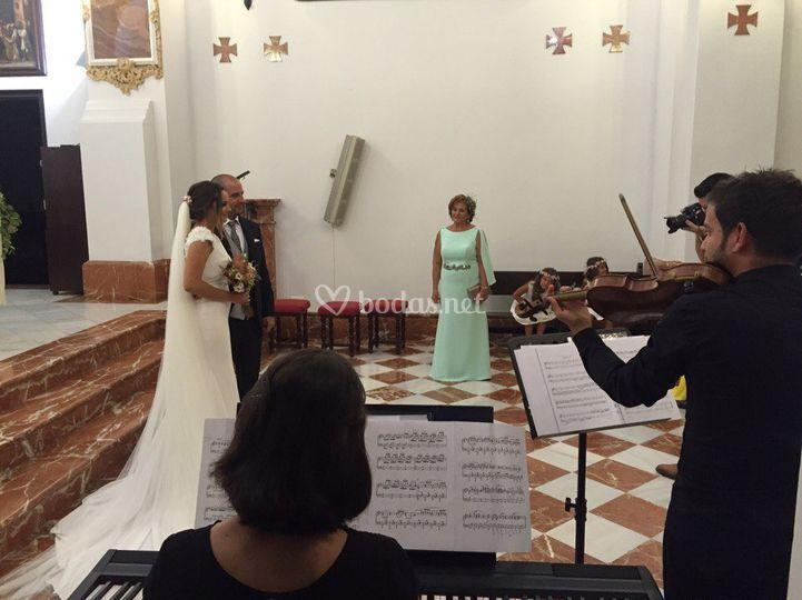 Dúo de violín y piano