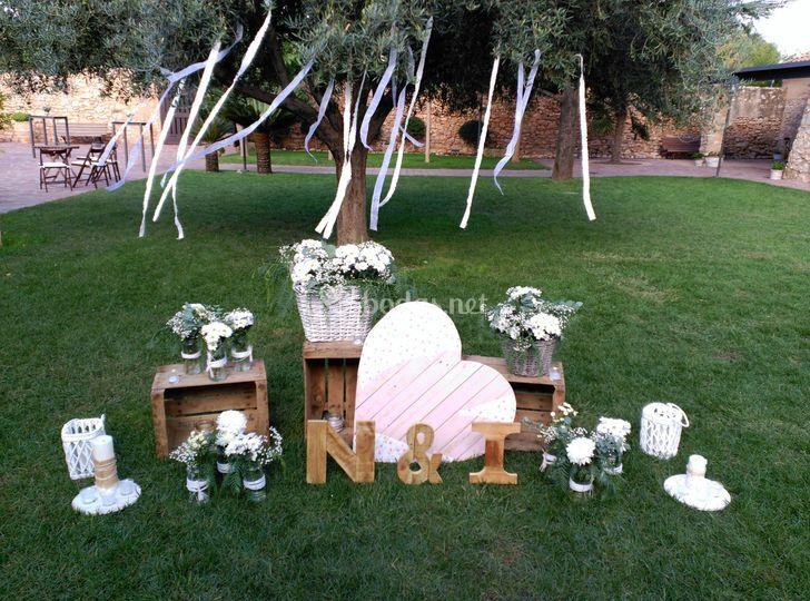 decoracion boda exterior - arquitectura del hogar - serart