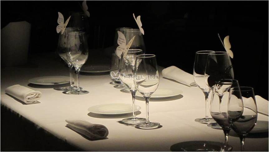 Detalles de mesa