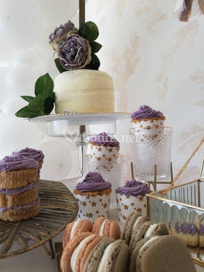 Detalle de mesas dulces