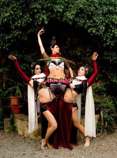 Danzas orientales fusión