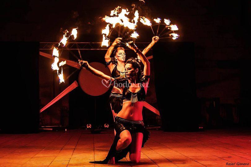 Danza del vientre - fuego