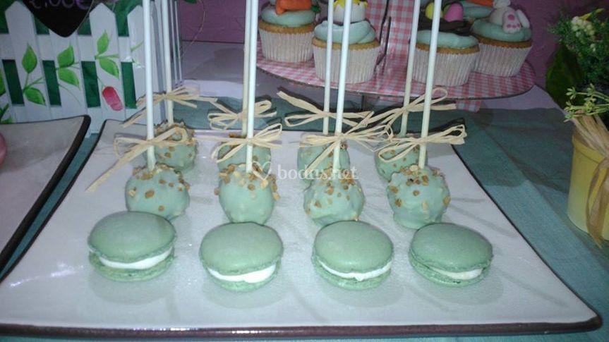 Macarons y cakepops