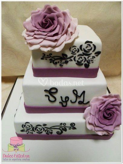 Tarta de boda personalizada