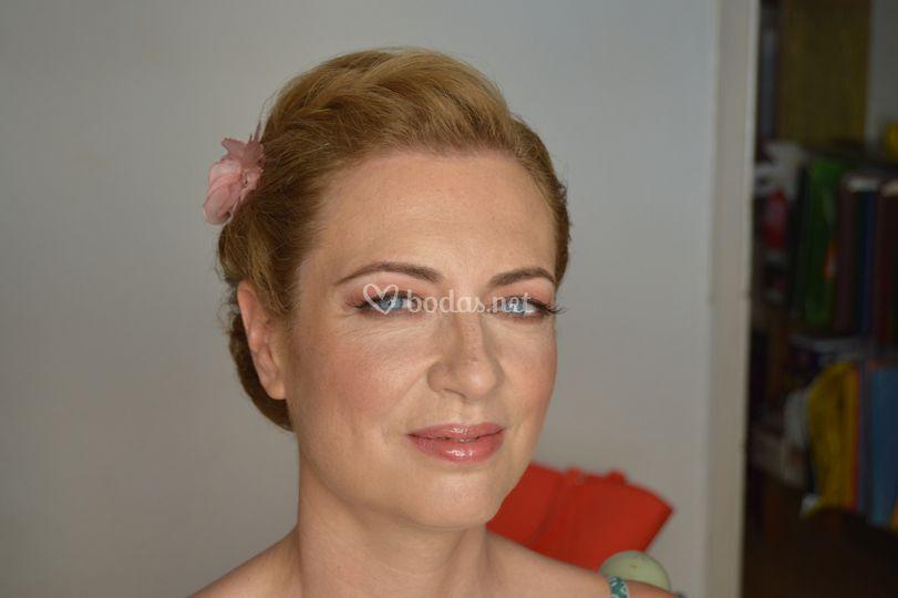 Maquillaje tradicional Nuria
