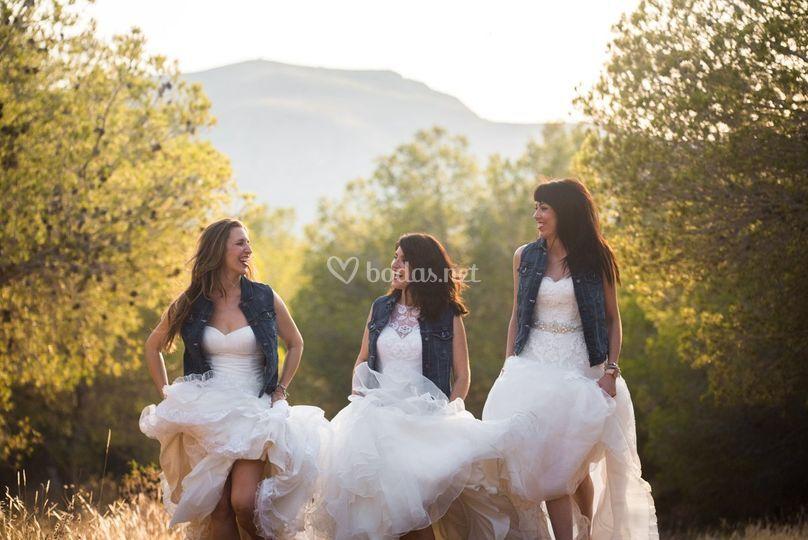 Amigas novias