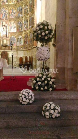 Detalle floral en la Catedral