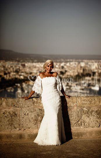 La belleza de la novia