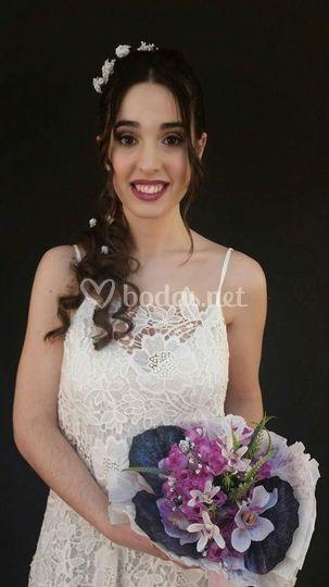 Maquillaje y look de novia