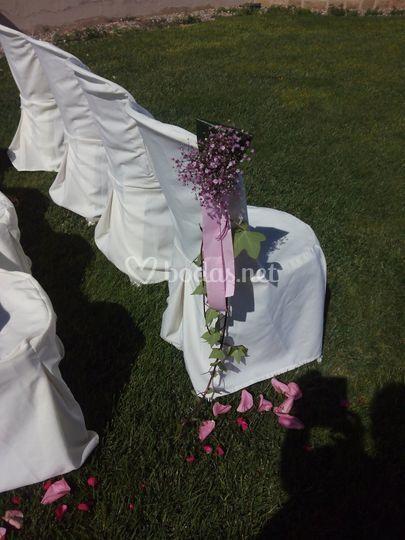 Ceremonia. Jardín exterior