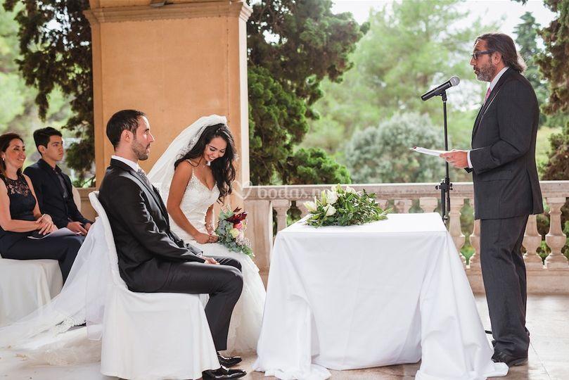 Boda Rafa y Karina de Pere Gomés - Maestro de Ceremonias