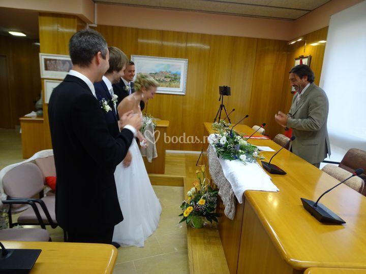 Boda Elena y Joachim