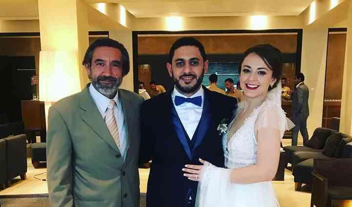 Boda Ayman y Daria