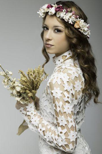 Novia Moderna De Sandra Montoya Makeup Fotos - Novia-moderna