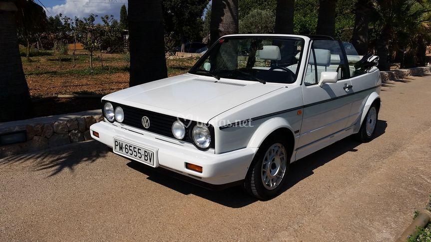 VW Golf Cabrio Blanco