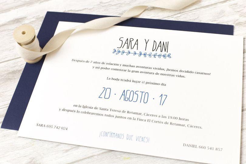 Invitación nadine