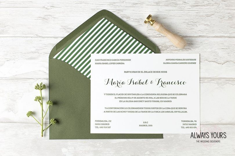 Invitación Alice