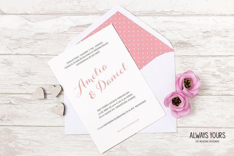 Invitación Amanda
