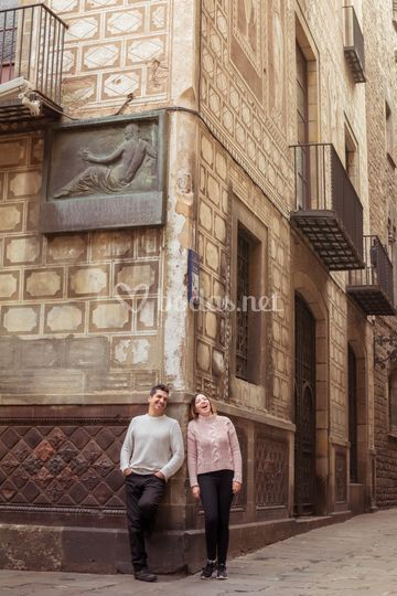 Sesión de pareja - barcelona