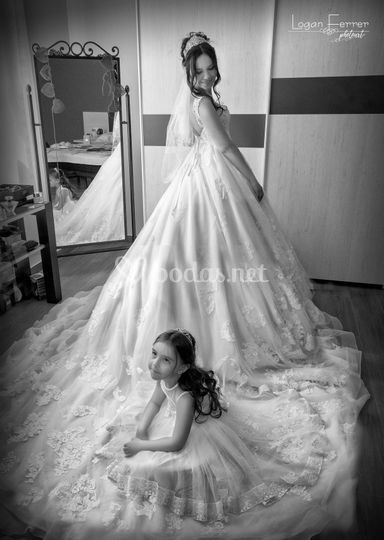 La novia y su hija