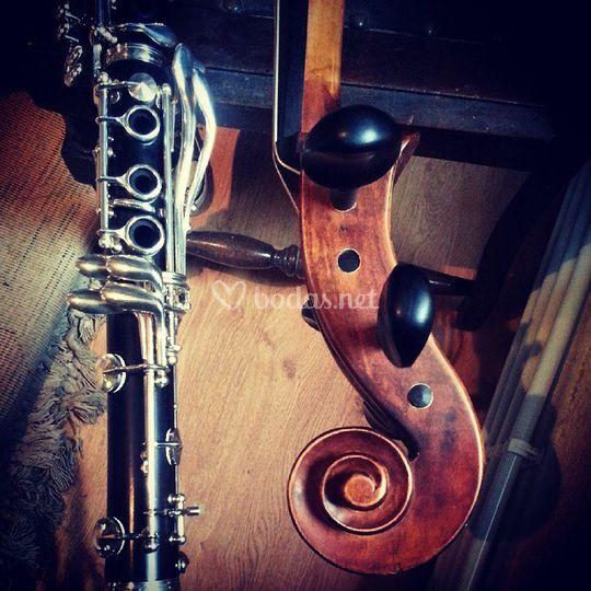 Clarinete Violoncello